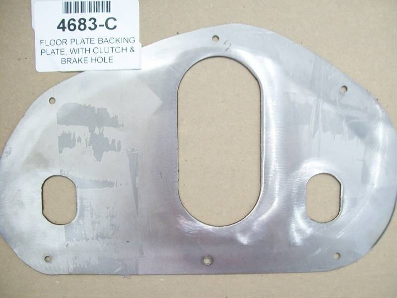 1953 56 ford f 100 floor plate backing plate with clutch for 100 floor 56
