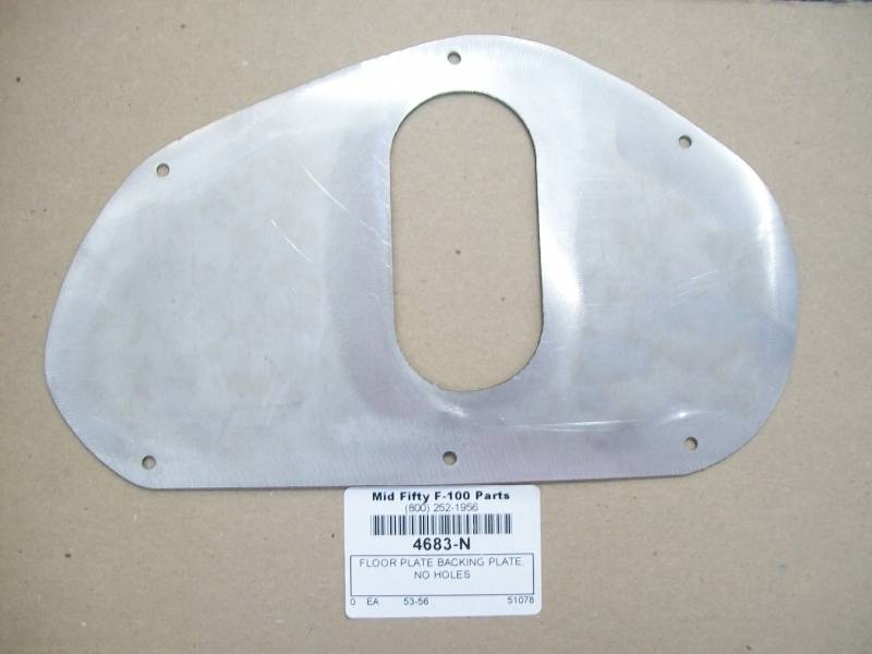 1953 56 ford f 100 floor plate backing plate no brake or for 100 floor 56