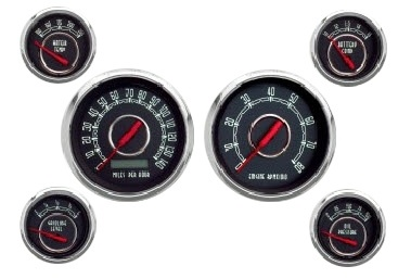 1948 79 Ford F 100 Gauges Vintage Style 6 Gauges With Tach