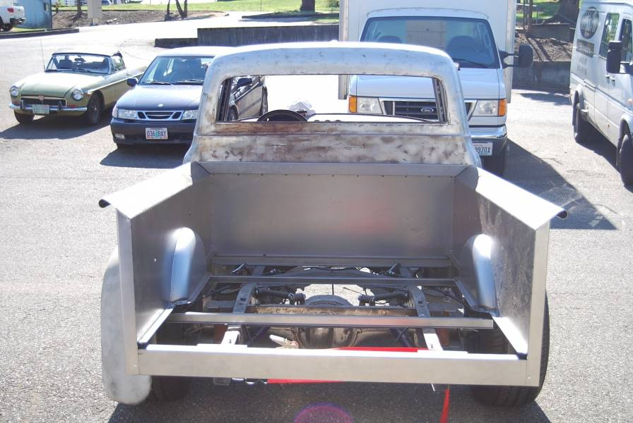 1950 72 Ford F 100 Bed Panel Front 5 Quot Wider