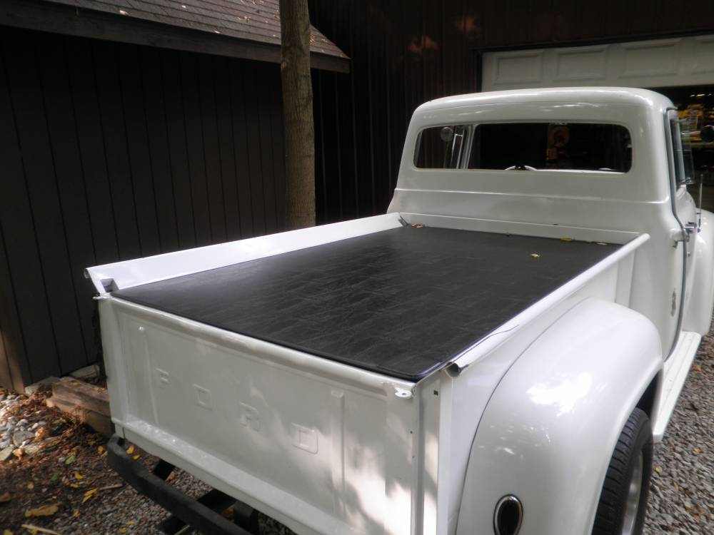 1951 72 Ford F 100 Tonneau Bed Cover Hatch Style Aluminum