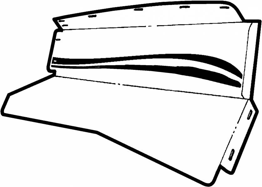 Item also  on 72 ford f100 fenders