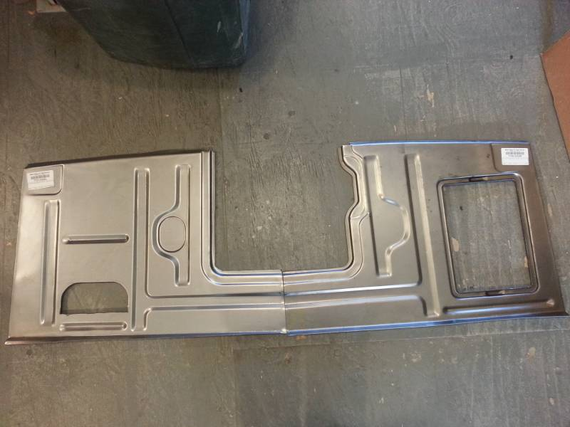 1953 55 ford f 100 floor pan front 53 55 passenger usa for 1950 ford floor pans