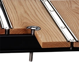 Bed wood floor kits mid fifty f 100 parts for Wood floor kits for pickups