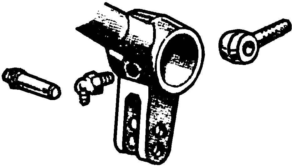 1942 56 Ford F 100 Brake Arm To Master Cylinder Eye Bolt