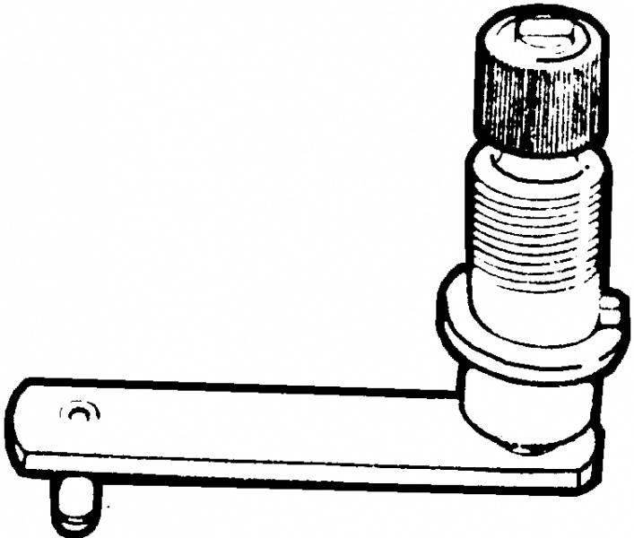 1953-55 ford f-100 wiper cowl pivot  53-55