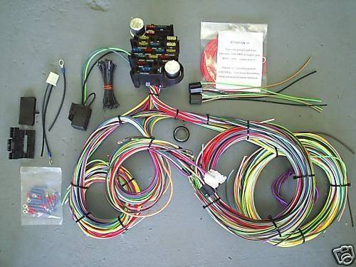 6607 51463 wires & wiring harnesses mid fifty f 100 parts ford truck wiring harness kits at alyssarenee.co