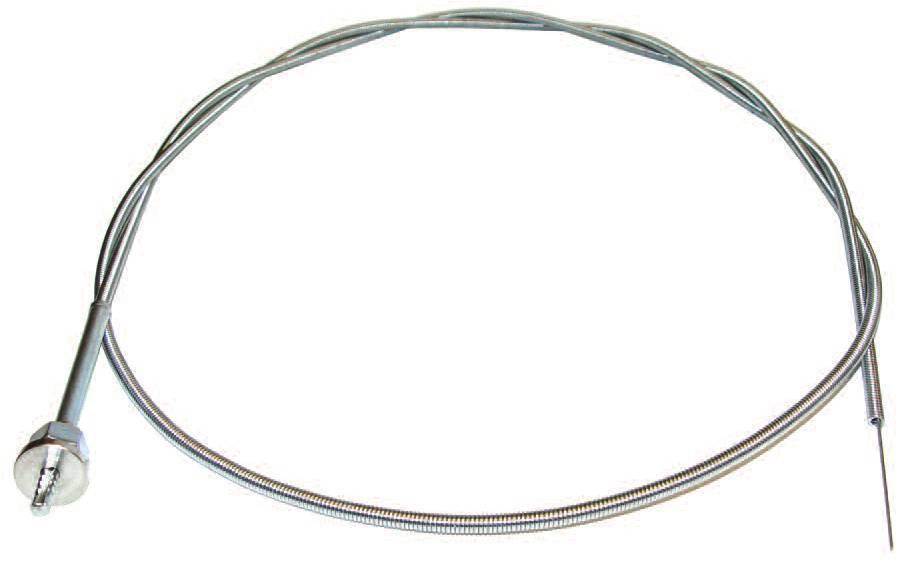 1940-79 ford f-100 cable  36 u0026quot  threaded  no knob